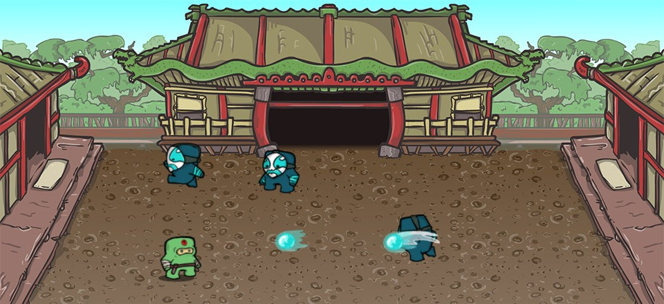 Dragon Dojo Play Screen
